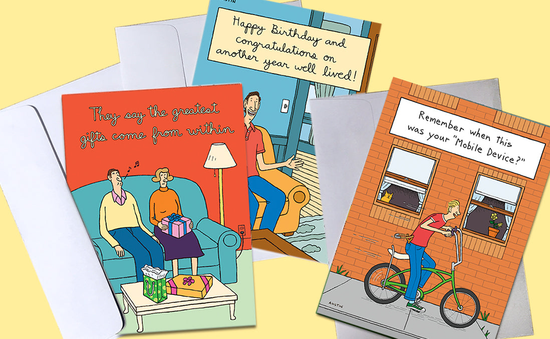 Greeting Cards for Men
