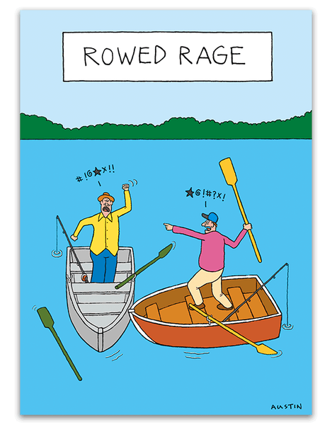 Rowed Rage card