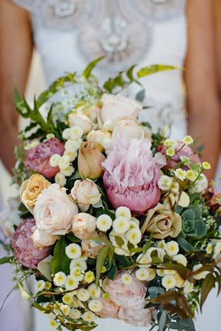 Beautiful wedding flowers by Say It With Flowers