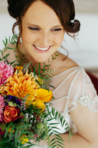 Bridal bouquet by Say It With Flowers