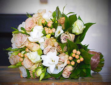 Say It With Flowers Wedding bouquet Melbourne