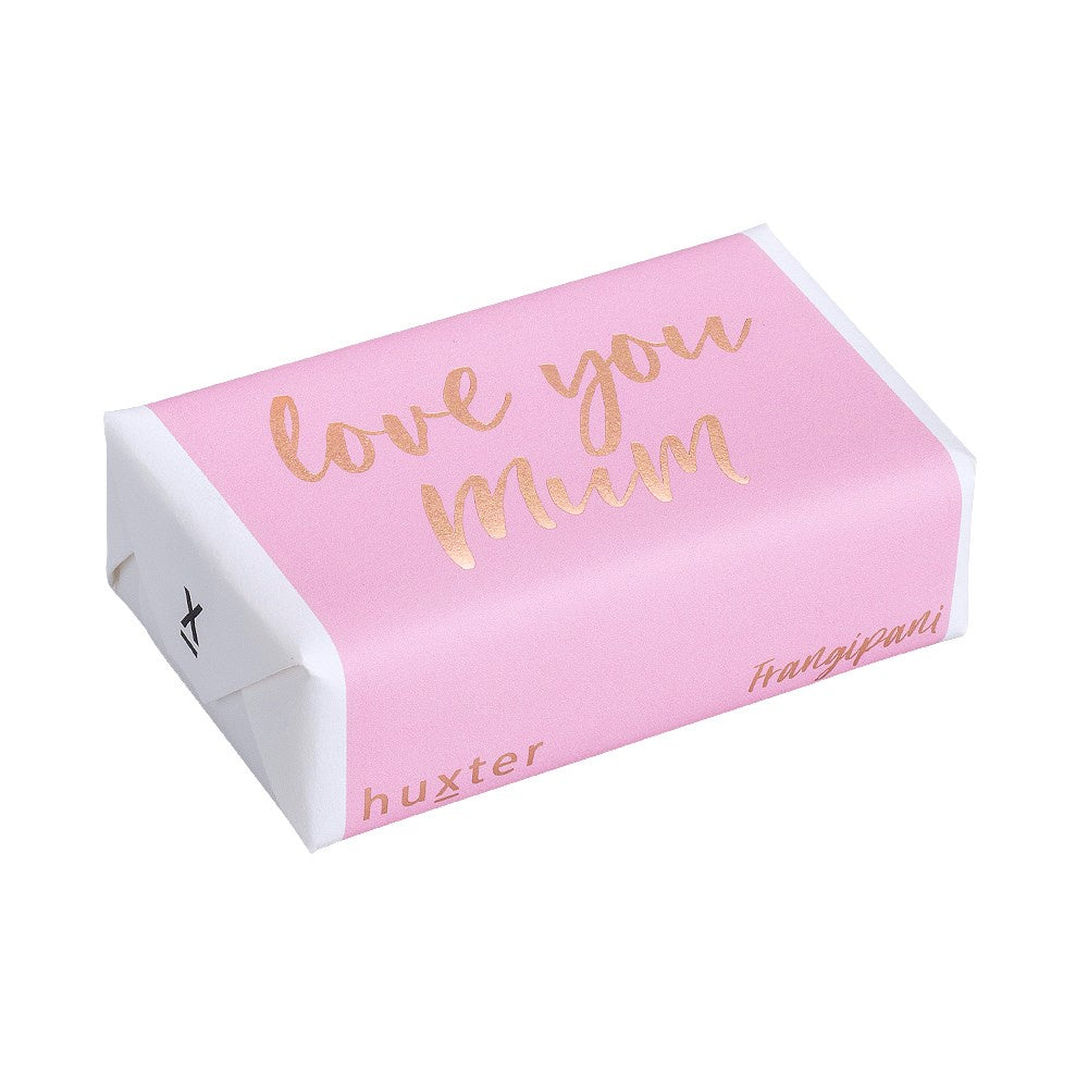 HUXTER: Soap - Love You Mum / Pale Pink