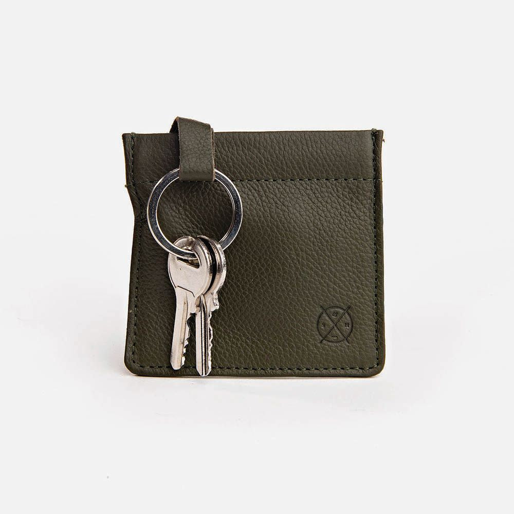 STITCH & HIDE: Key Pouch - Olive