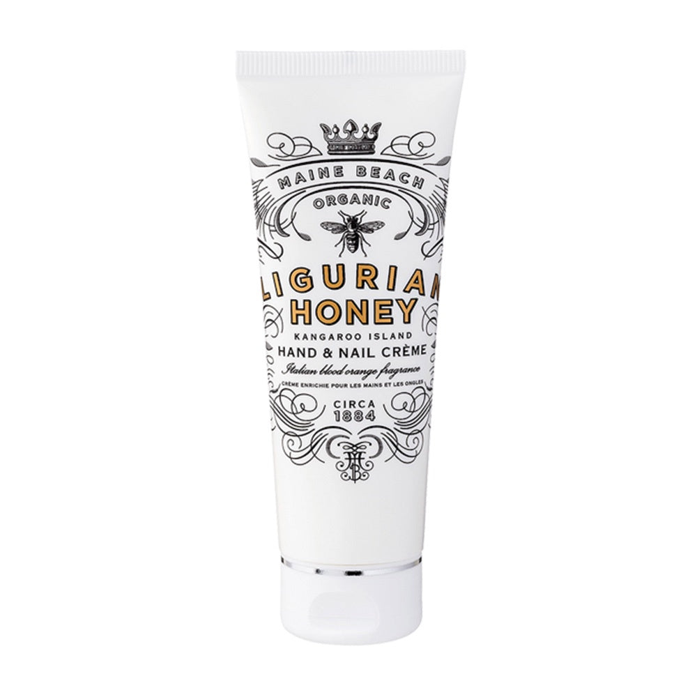 MAINE BEACH: HAND & NAIL CREME - ORGANIC LIGURIAN HONEY