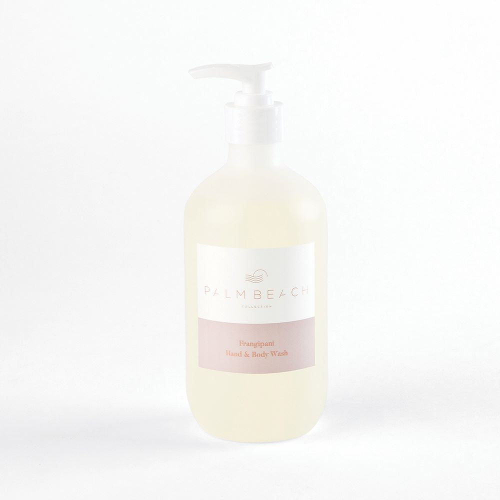 PALM BEACH: Hand & Body Wash - Frangipani