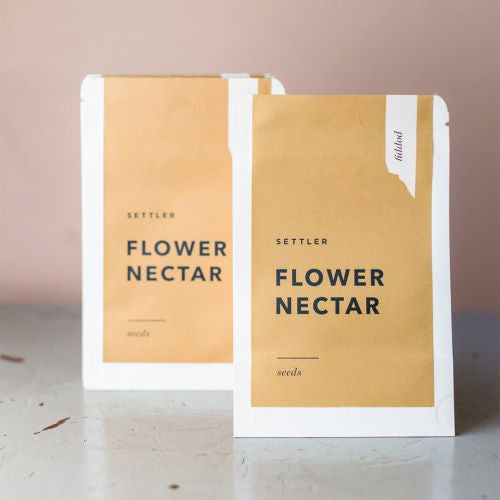 SETTLER SEEDS: Flower Nectar - Poppy