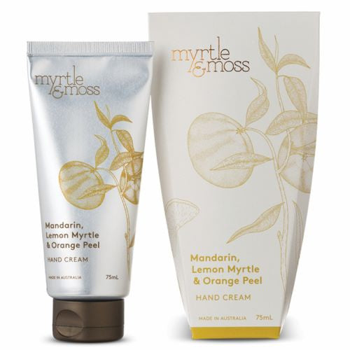 MYRTLE & MOSS: Hand Cream - Mandarin, Lemon Myrtle & Orange Peel