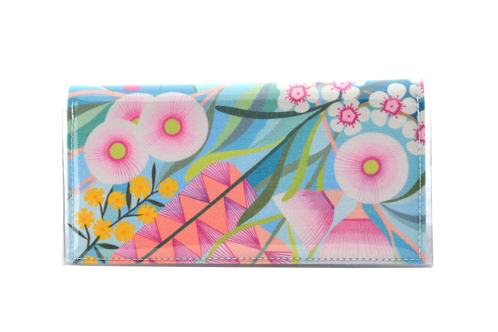 KITTY CAME HOME: Bi-fold Plus Clutch - Claire Ishino / Australian Garden
