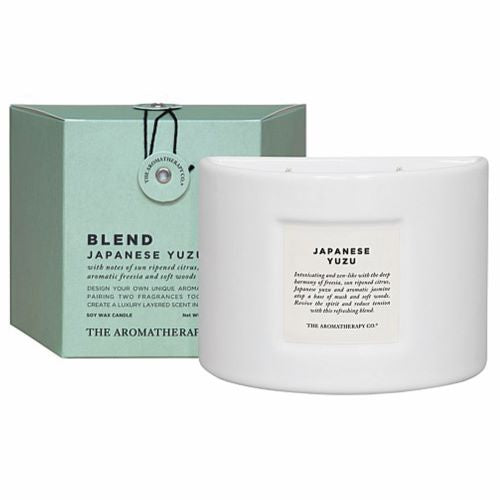 THE AROMATHERAPY CO: Blend Candle - Japanese Yuzu