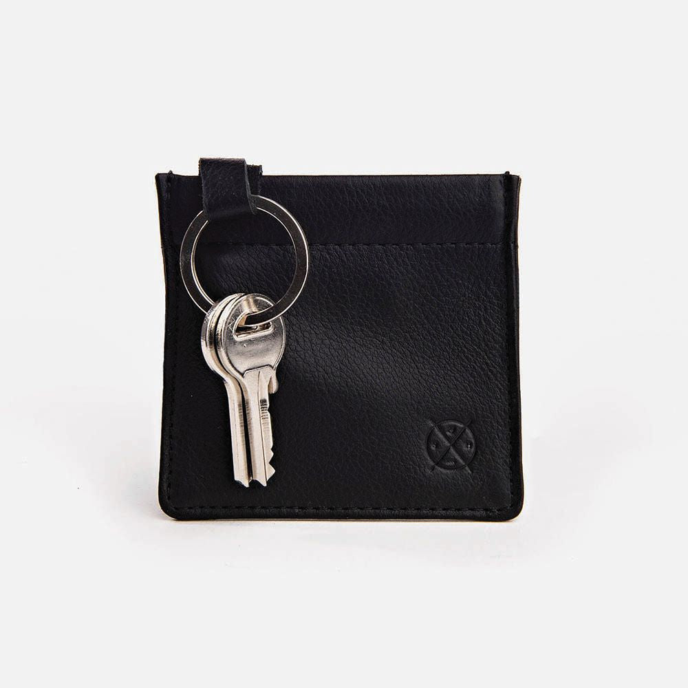 STITCH & HIDE: Key Pouch - Black