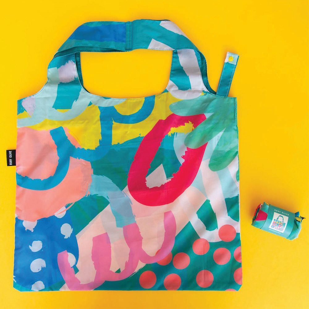 RUBY OLIVE: Stronger Together Shopping Bag - Vision