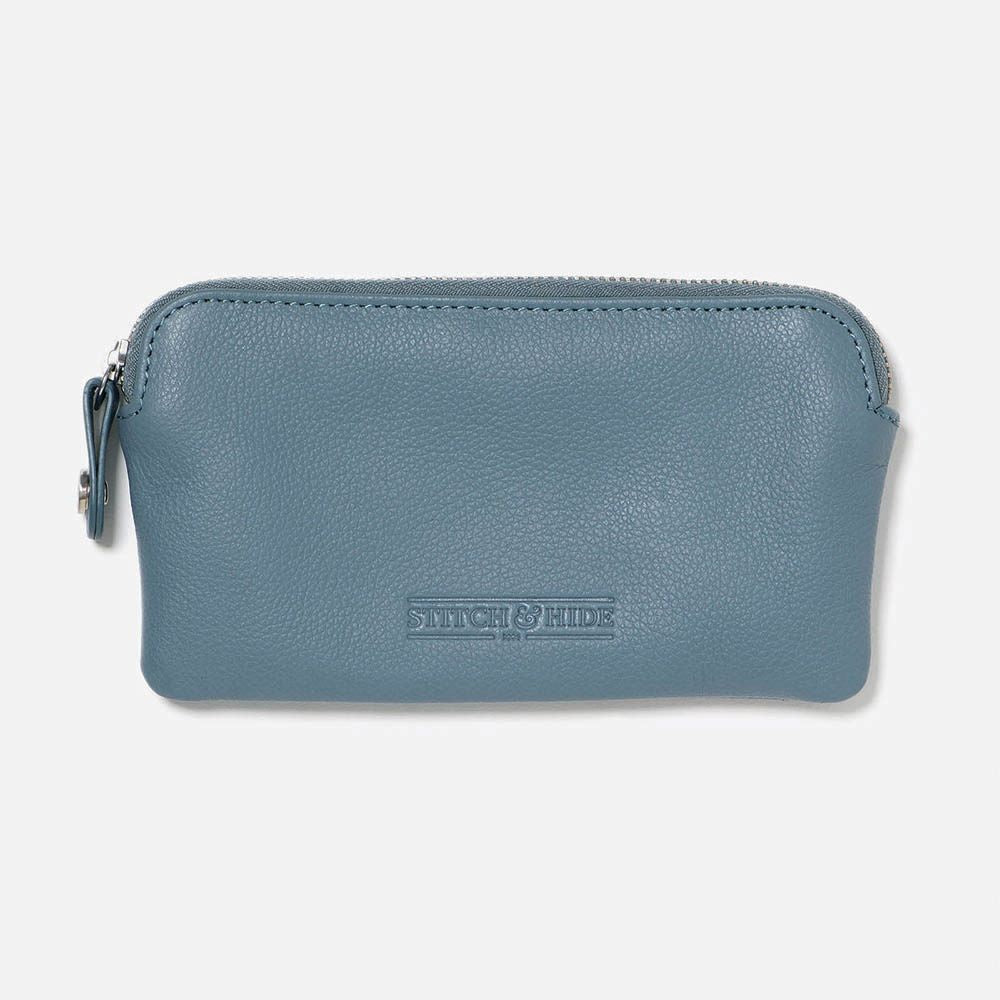 STITCH & HIDE: Lucy Pouch - Storm Blue