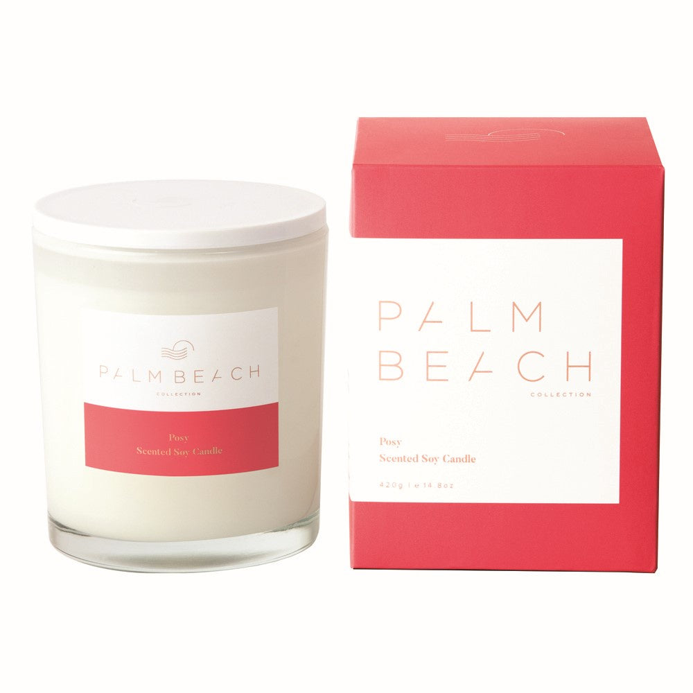 PALM BEACH: CANDLE - POSY