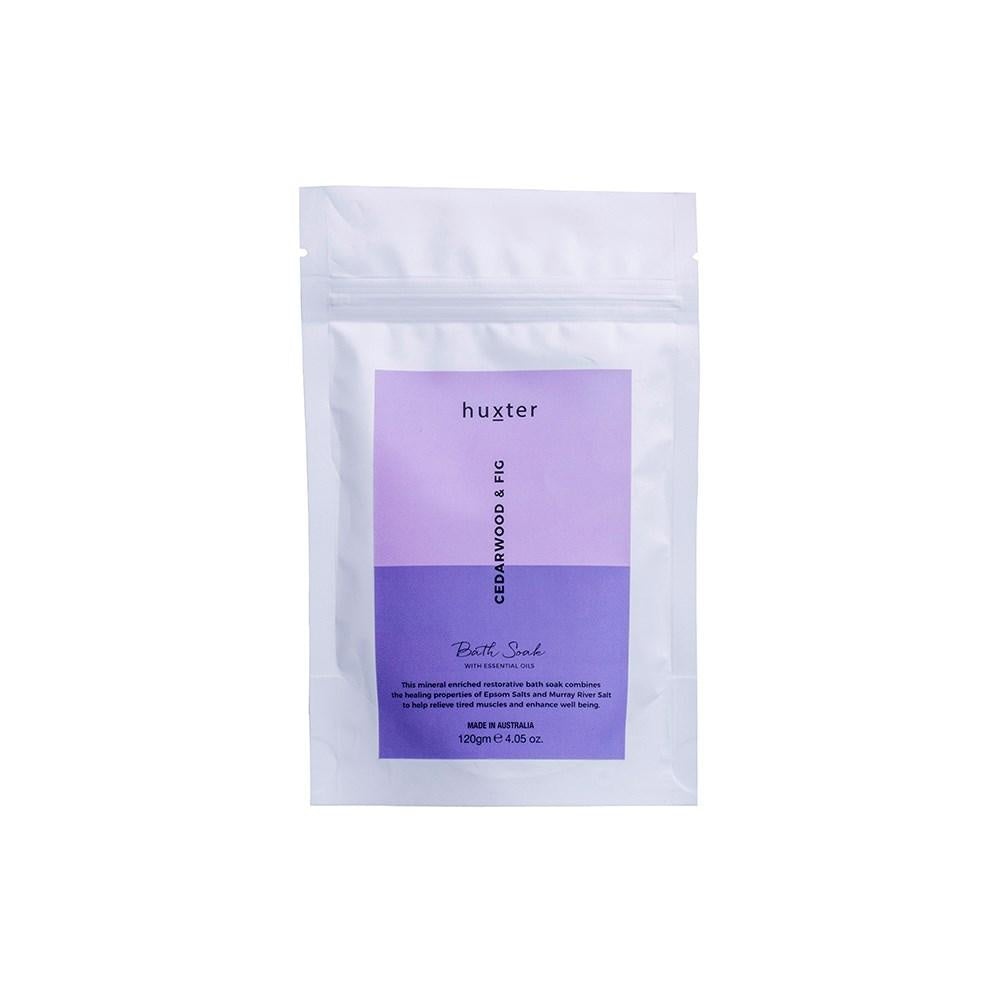 HUXTER: Bath Soak - Cedarwood & Fig