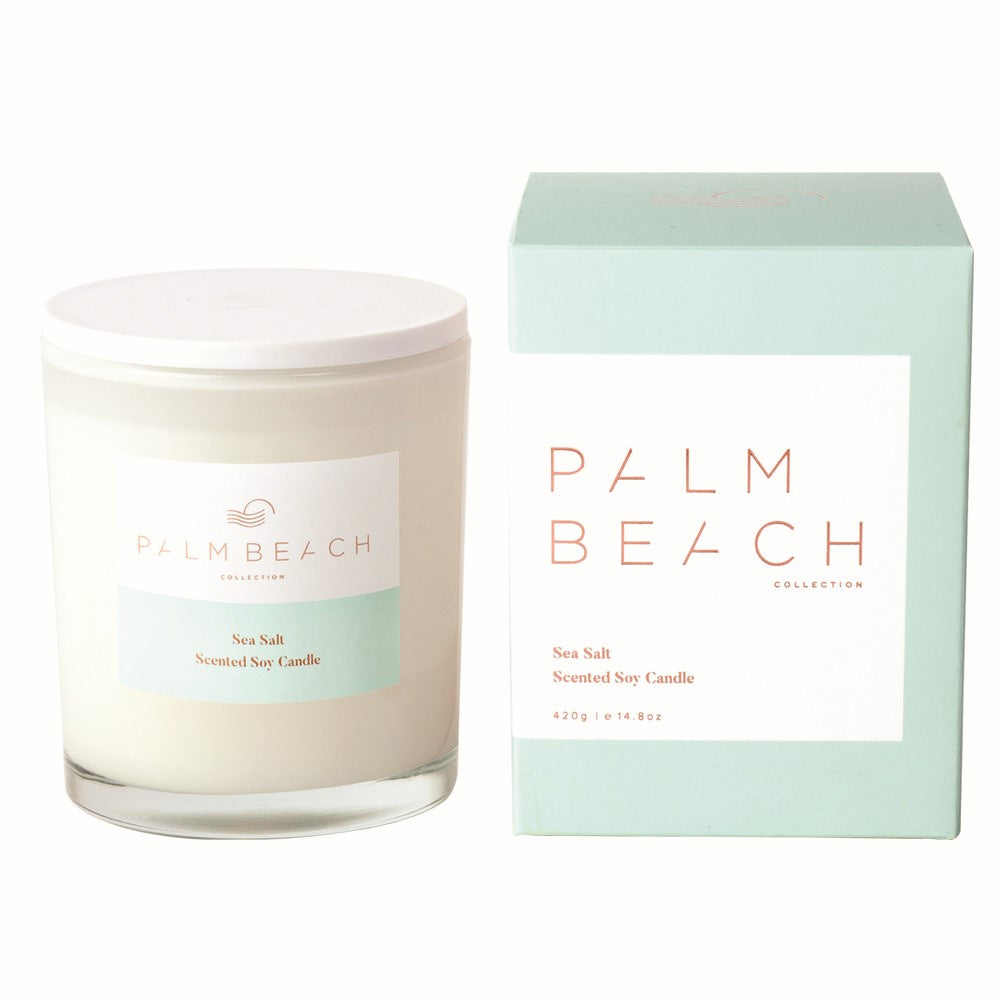 PALM BEACH: CANDLE - SEA SALT