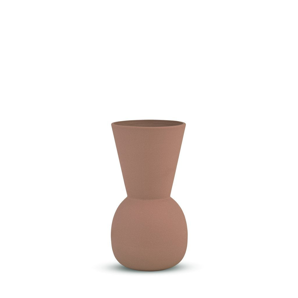 MARMOSET FOUND: Cloud Bell Vase Ochre (S)