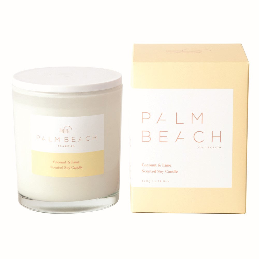 PALM BEACH: Candle - Coconut & Lime