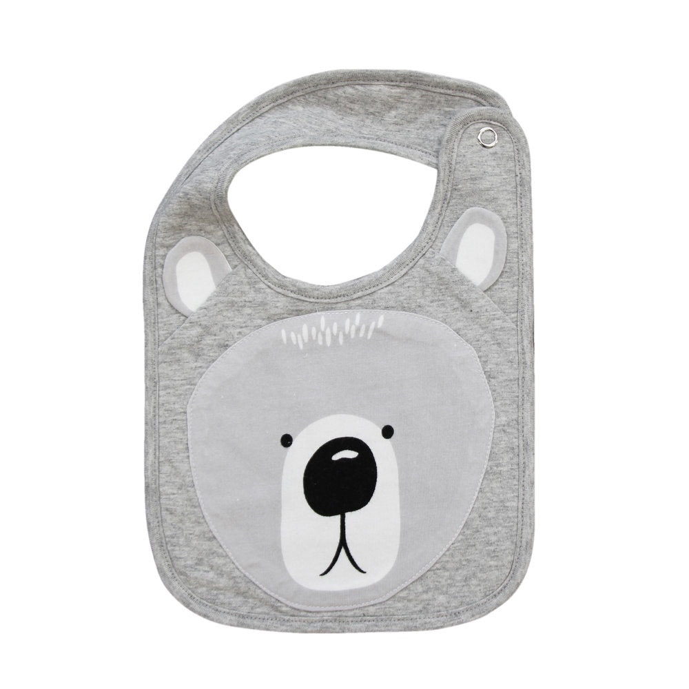 MISTER FLY: Bib - Grey Bear