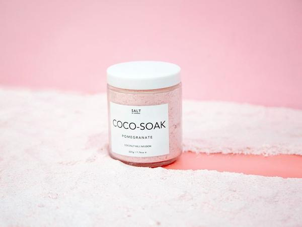 SALT BY HENDRIX: COCO SOAK - POMEGRANATE