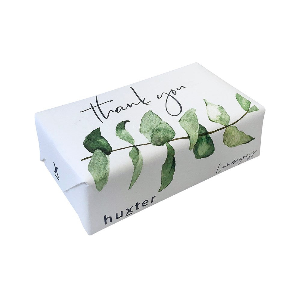 HUXTER: Soap - Thank You / Green Leaves