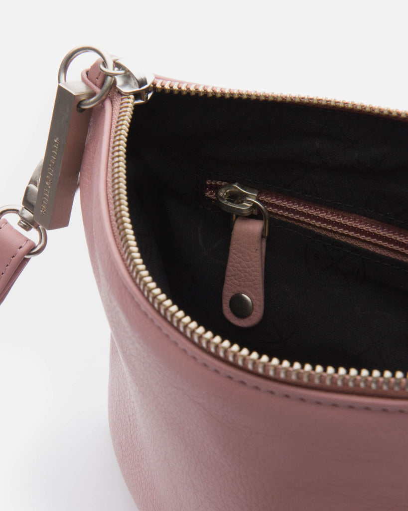 STITCH & HIDE: Cassie Clutch - Dusty Rose