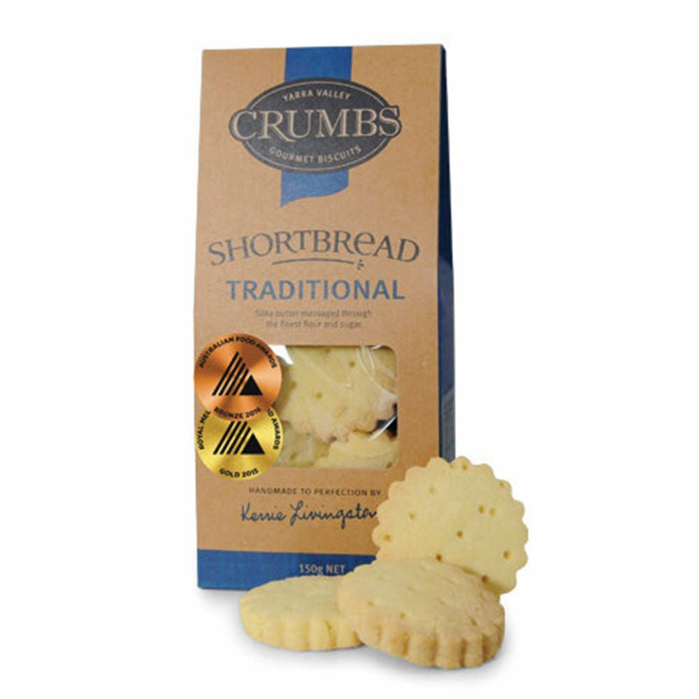 CRUMBS: Traditional Shortbread