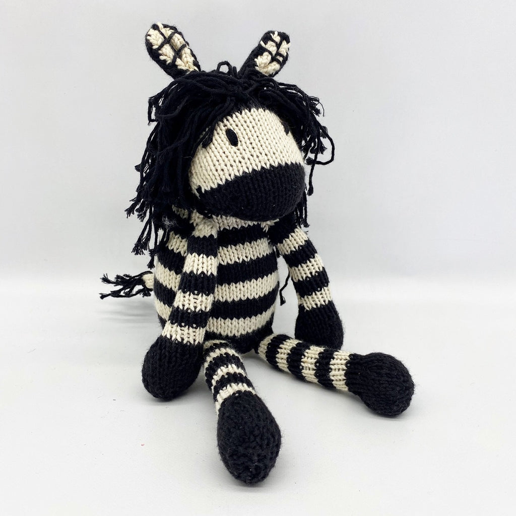 KENANA KNITTERS: Zebra - Medium