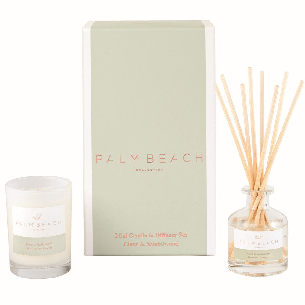 PALM BEACH: Gift Pack - Clove & Sandalwood
