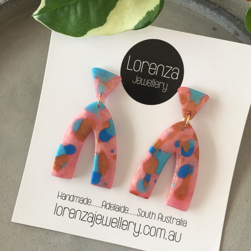 LORENZA JEWELLERY: Earrings - Fizz 1