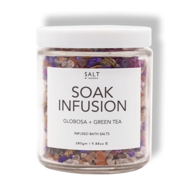 SALT BY HENDRIX: Soak Infusion - Globosa + Green Tea