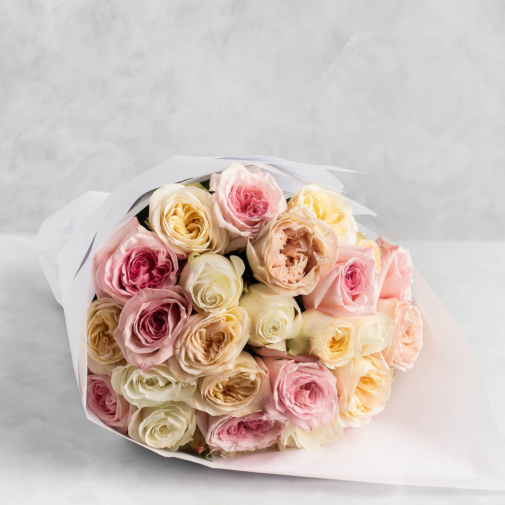 FRESHLY CUT ROSES: Soft & Pretty