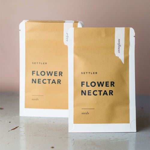 SETTLER SEEDS: Flower Nectar - Sunflower
