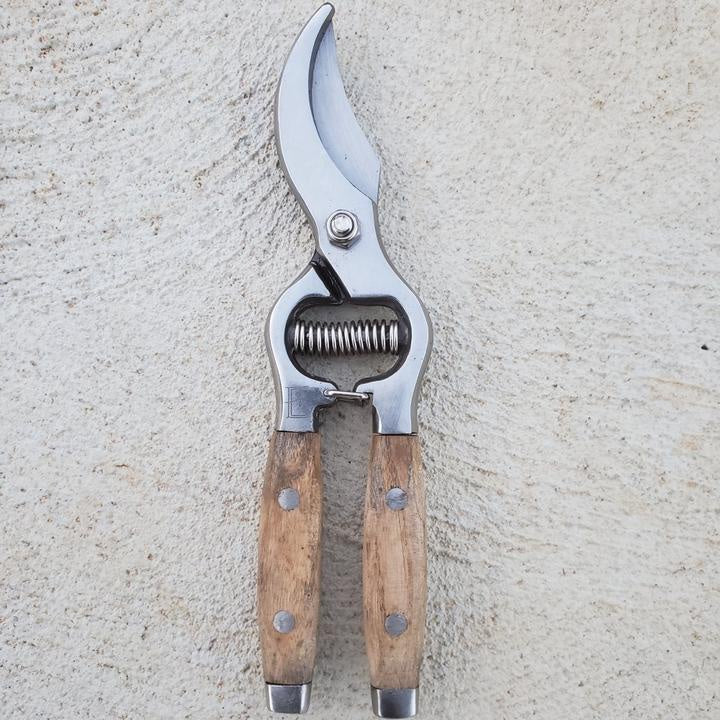 HEAVEN IN EARTH: Wood Handled Secateurs - Ash