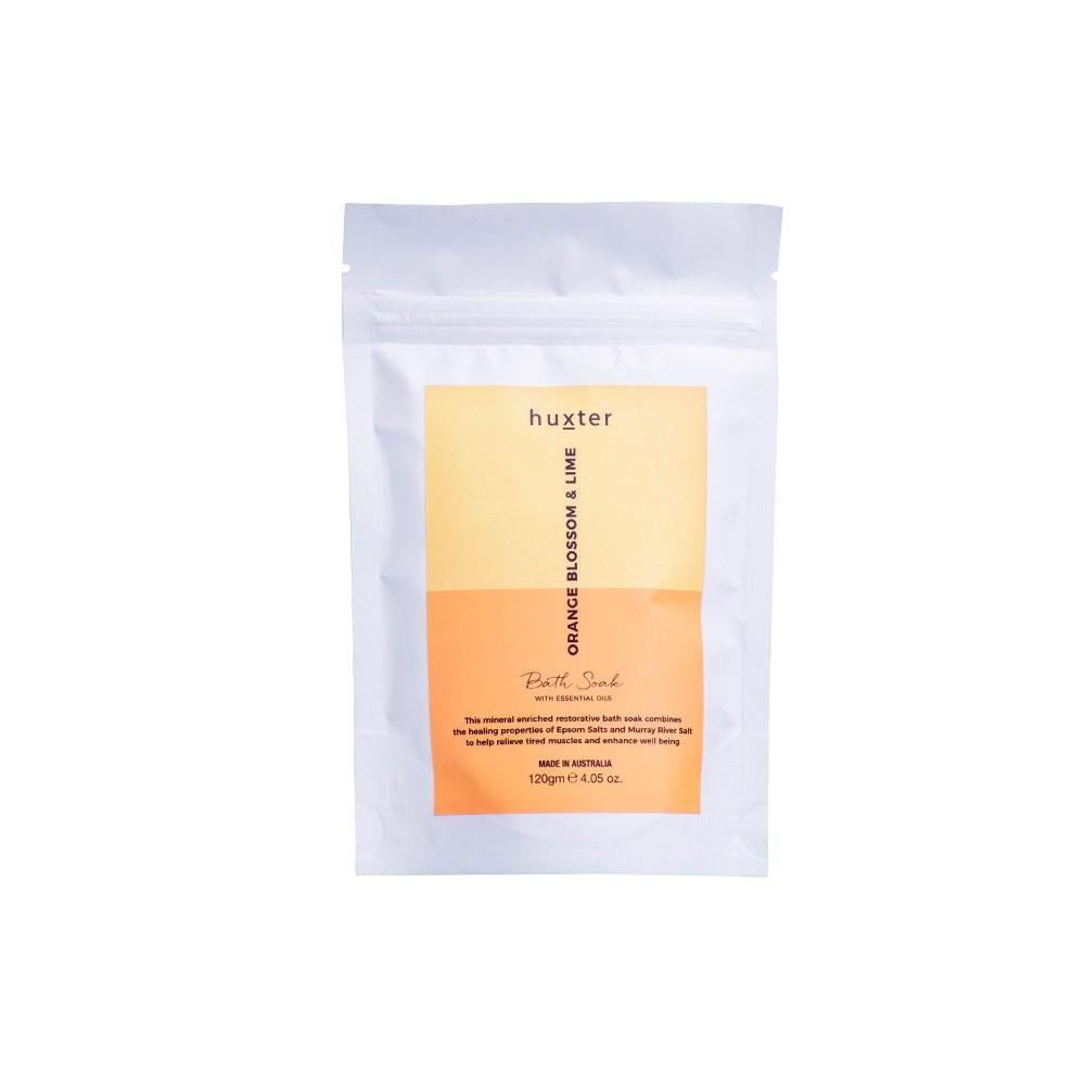 HUXTER: Bath Soak - Orange Blossom & Lime