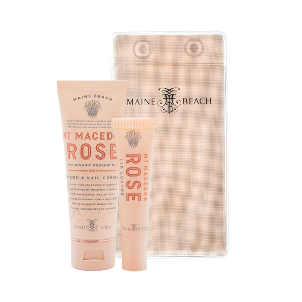 MAINE BEACH: Essentials Pack - Mt Macedon Rose