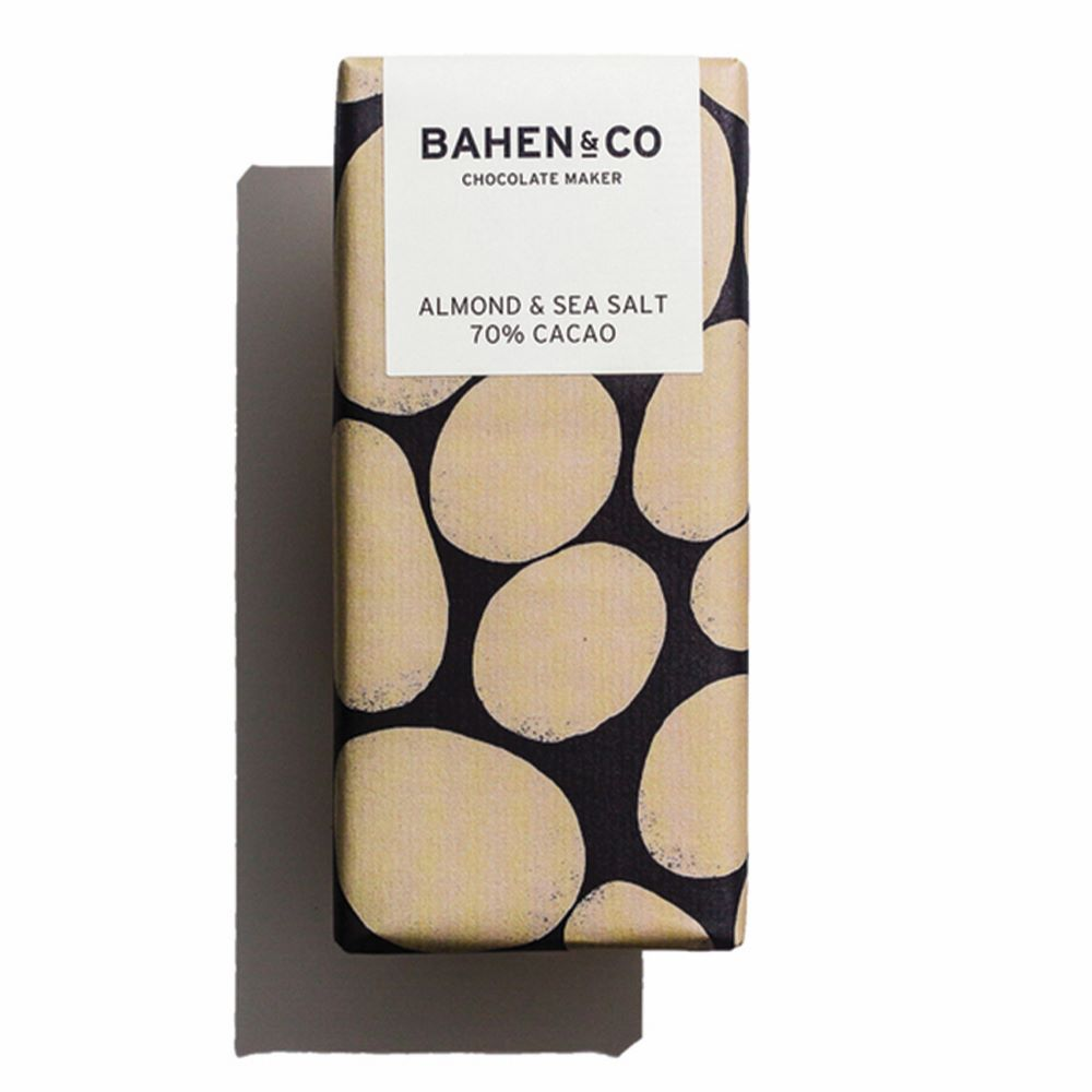 BAHEN & CO CHOCOLATE: Almond & Sea Salt