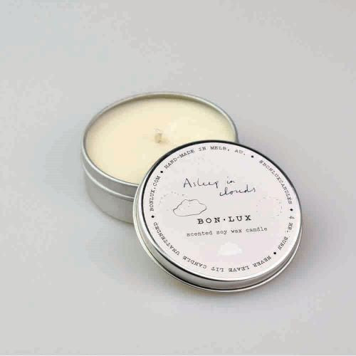 BON LUX: Travel Tin Candle - Asleep in Clouds