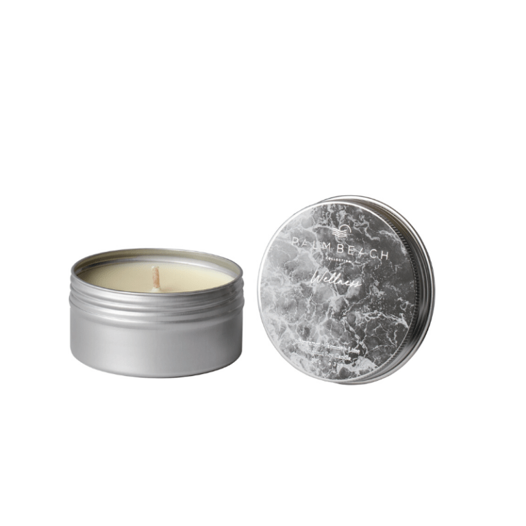PALM BEACH: WELLNESS TRAVEL TIN CANDLE