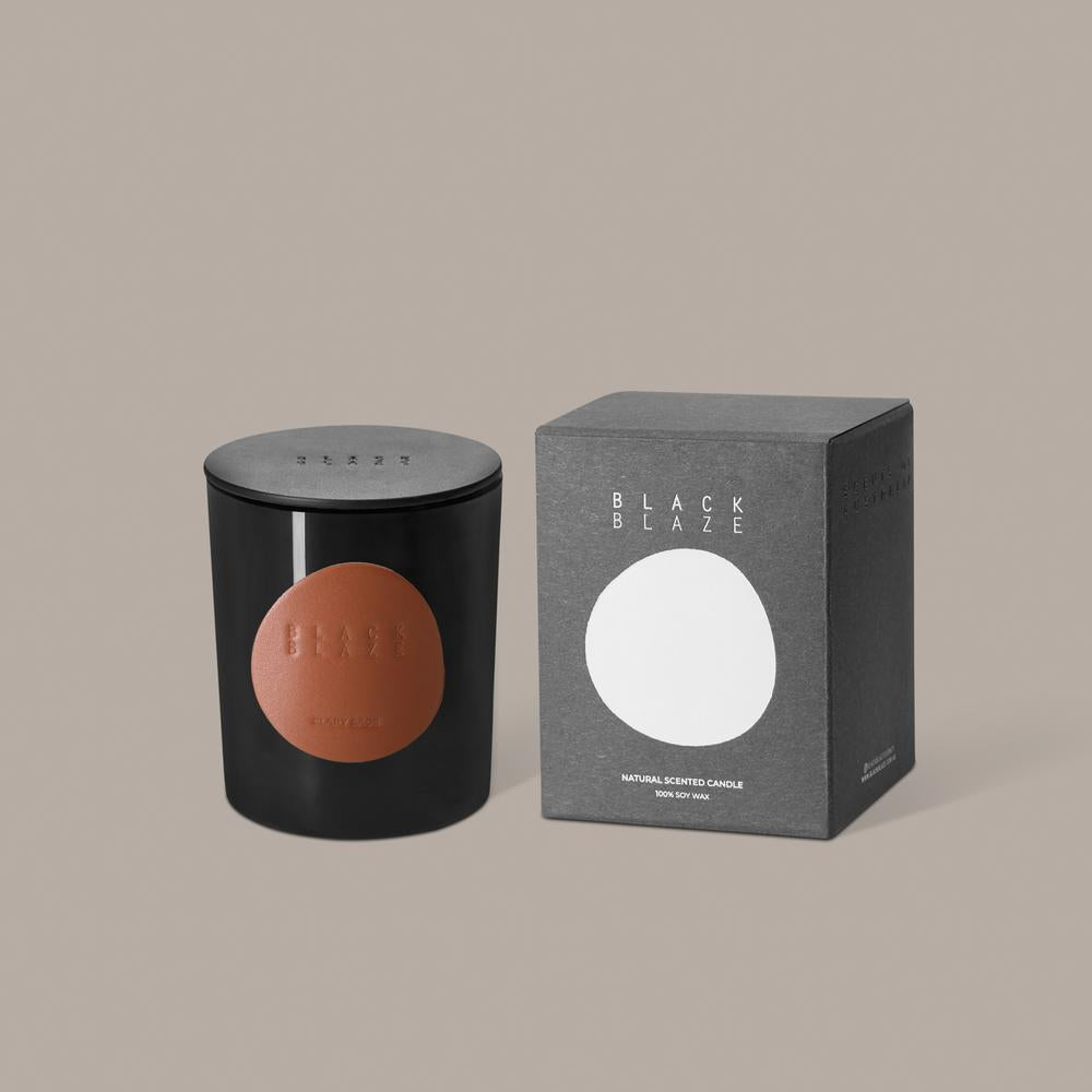 BLACK BLAZE: Scented Candle - Clary Sage