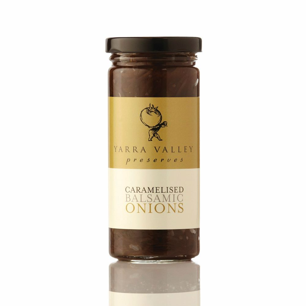 YARRA VALLEY GOURMET FOODS: Caramelised Balsamic Onions