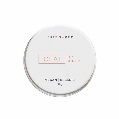 BUTT NAKED: Lip Scrub - Chai