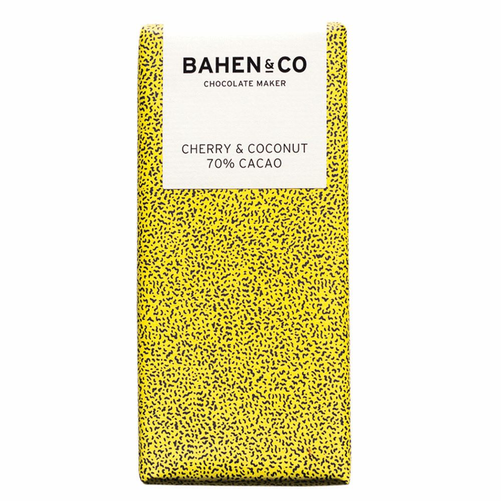 BAHEN & CO CHOCOLATE: Cherry & Coconut
