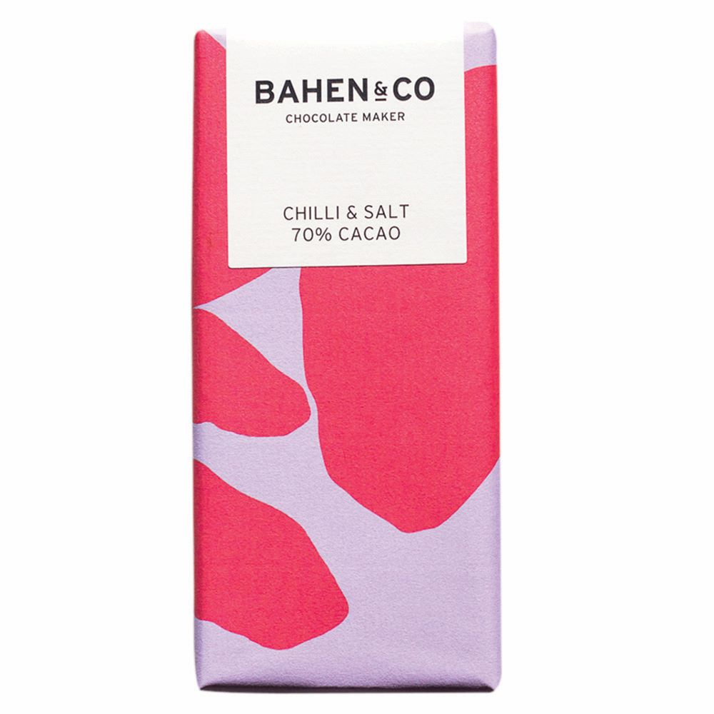 BAHEN & CO CHOCOLATE: Chilli & Salt