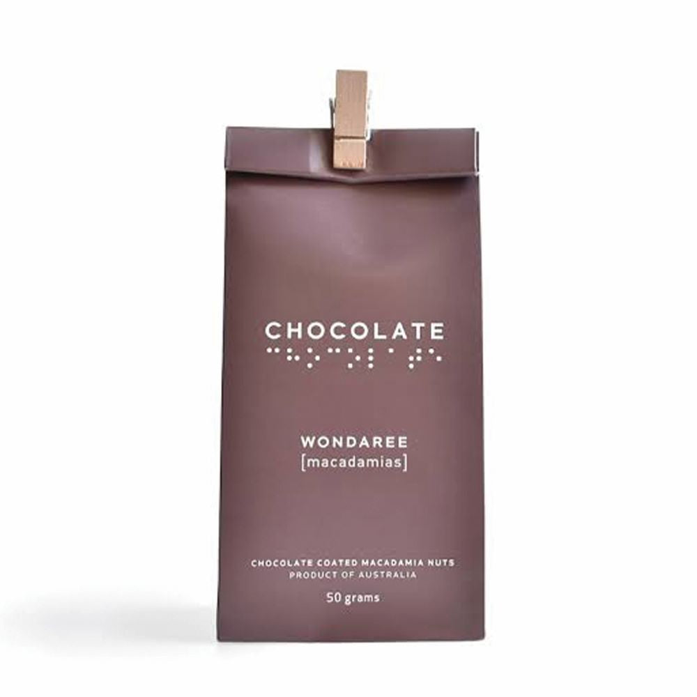 WONDAREE MACADAMIAS: Chocolate