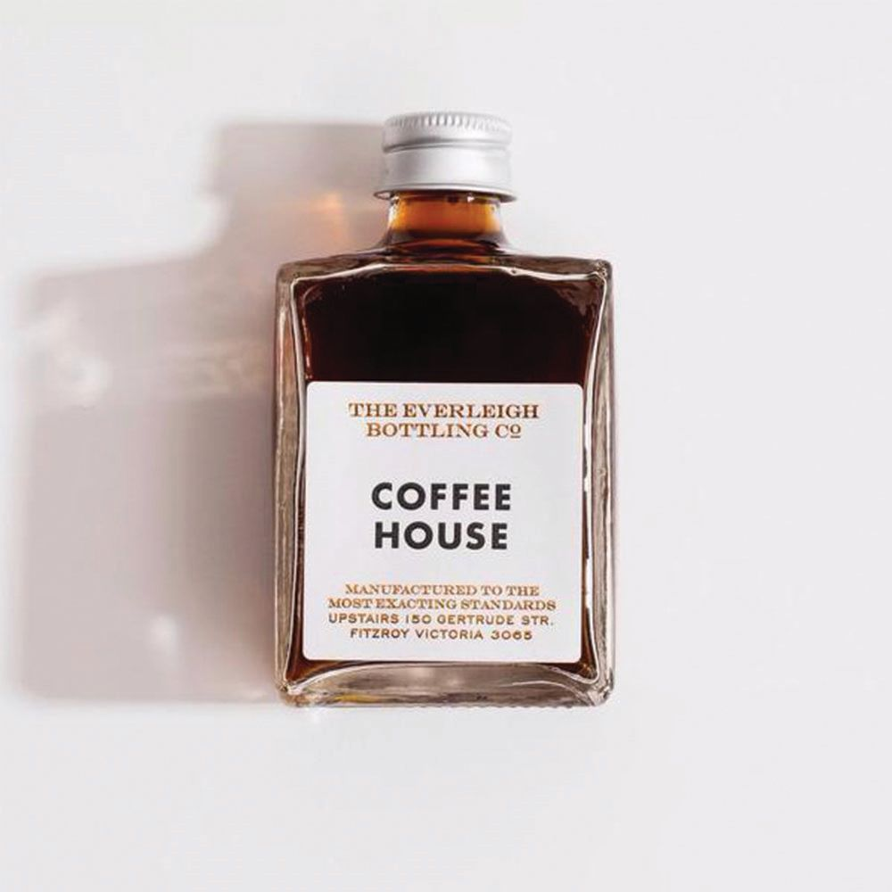 THE EVERLEIGH BOTTLING CO: Bottled Cocktail - Coffee House