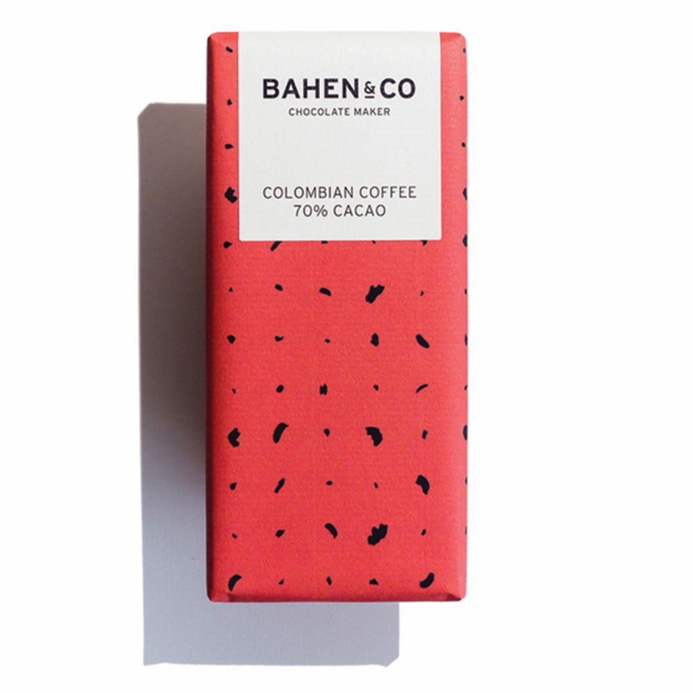BAHEN & CO CHOCOLATE: Columbian Coffee