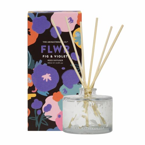 THE AROMATHERAPY CO: FLWR Diffuser - Fig & Violet