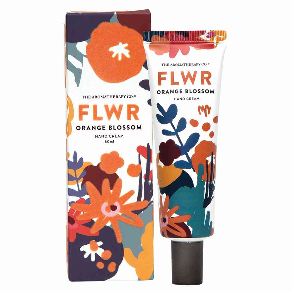 THE AROMATHERAPY CO: FLWR HAND CREAM - ORANGE BLOSSOM