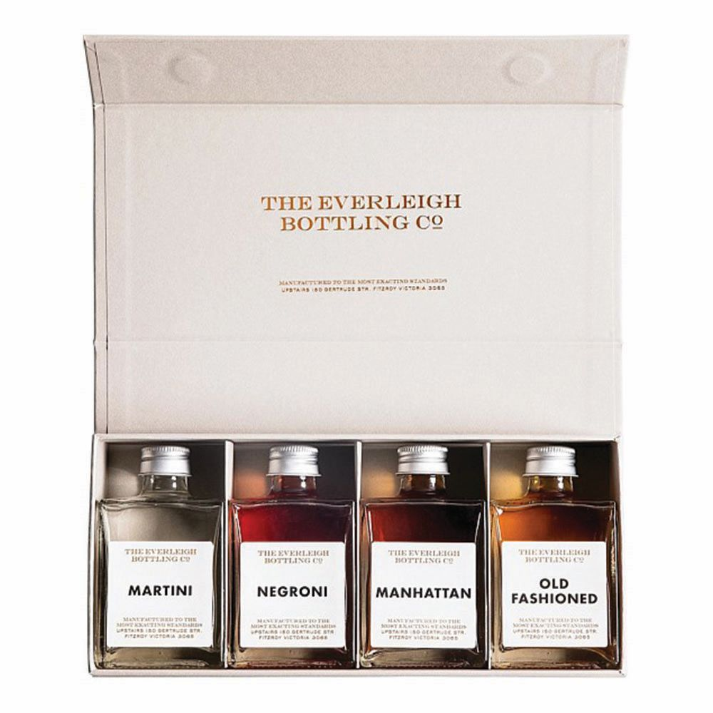 THE EVERLEIGH BOTTLING CO: The Famous Four - Cocktail Set
