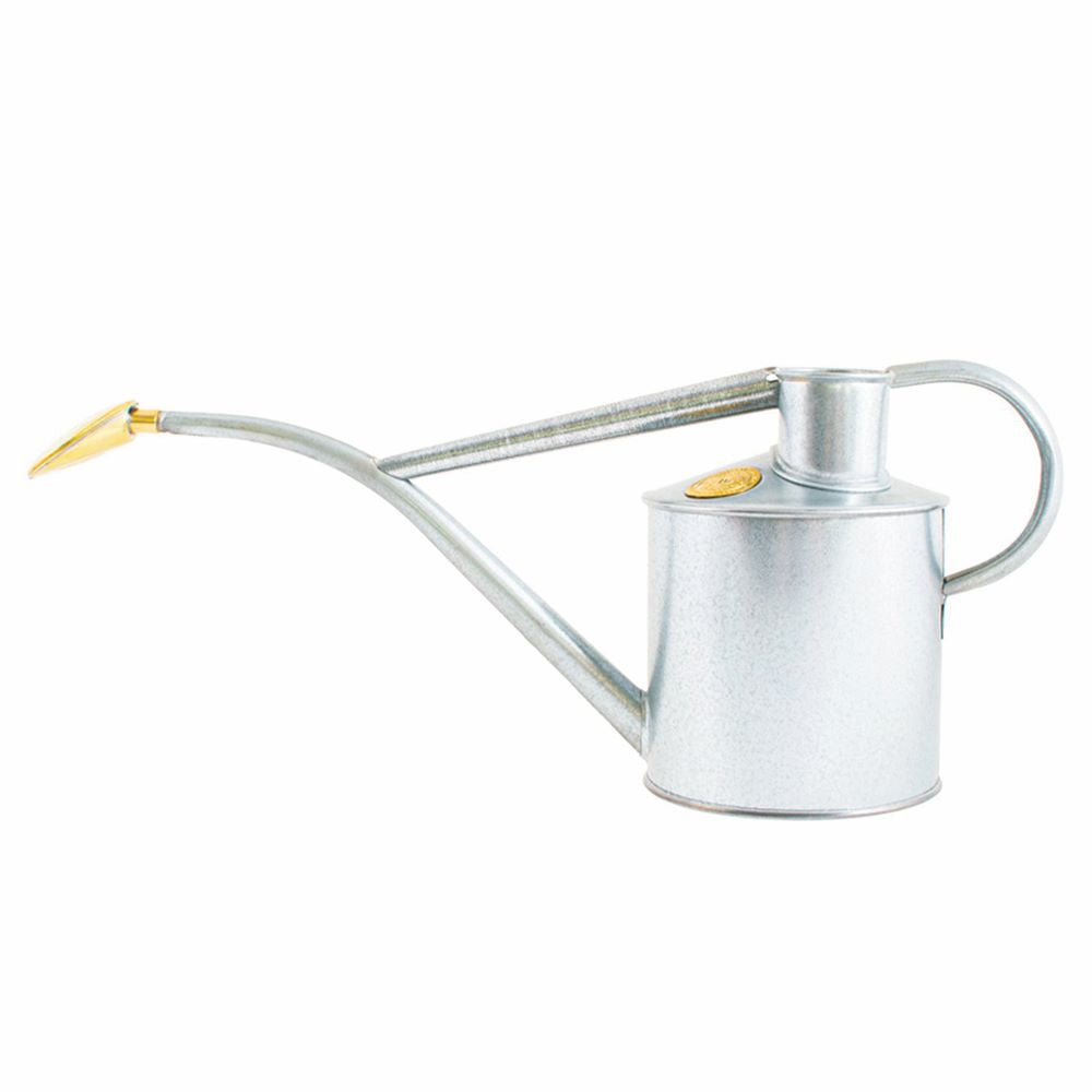 HAWS: Indoor Watering Can - Galvanised 1L
